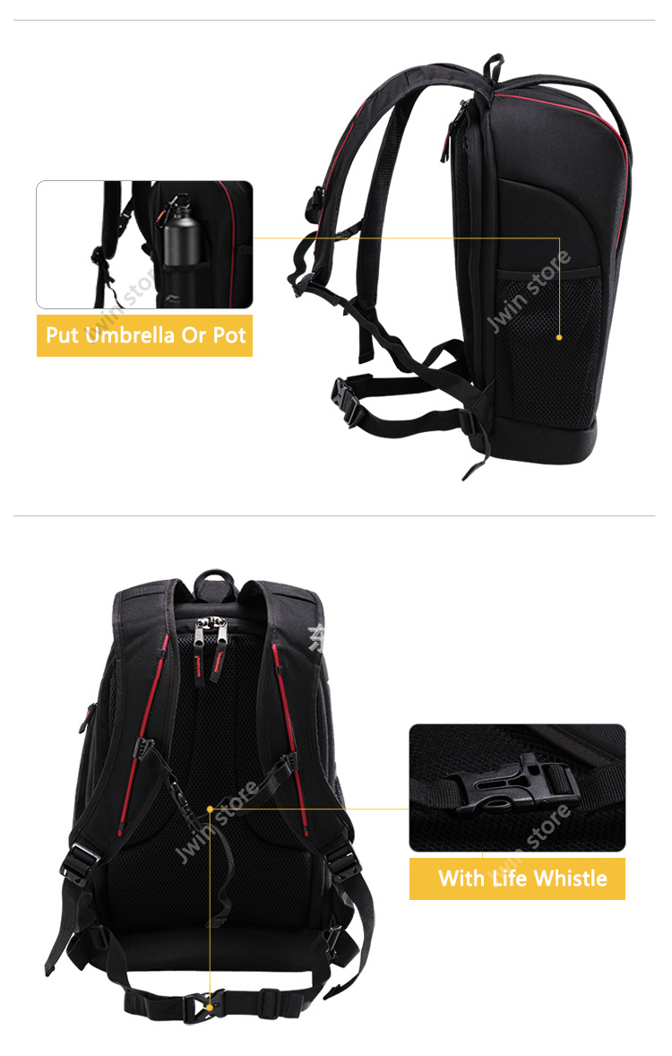CADeN Professional Travel Waterproof Fashion Camera Backpack Photo tas Digital Camera Bag Case for Dslr Sony Canon Nikon K6K7 8