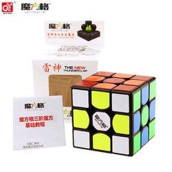 QiYi 3x3x3 the new Thunderclap Black 3Layer Mofangge Qiyi 5.7cm 3layer Thunderclap V2 Stickerless QiYi Valk 3 Black Magic Cube