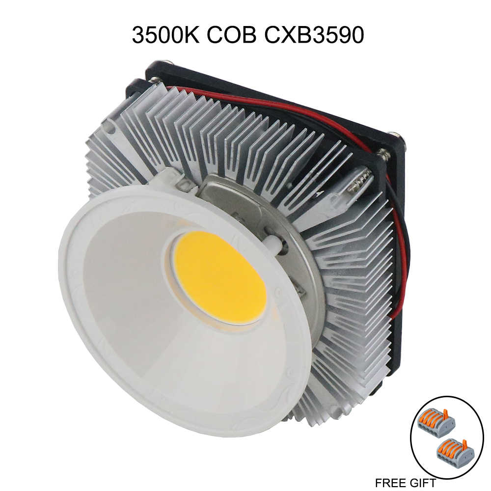 led full spectrum 100w CREE CXB3590 cob led grow light DIY Module Full Spectrum LED Grow Lamp indoor grow room Ideal Holder