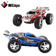 High Speed  WL 2019 Electric RC Car Toys Dirt Bike 1:32 2.4G Radio Remote Control Toy 4CH Truck 20-30km/hour  RC Car