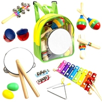 Instruments For Toddlers And Preschoolers Wooden Percussion For Boys And Girls Including Xylophone Promoting Early Developme