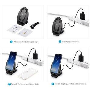 Image 5 - CHOETECH Drahtlose Ladegerät für Samsung Galaxy S8 Schnelle Qi Drahtlose Ladegerät mit Lüfter QI Drahtlose Ladestation für iPhone