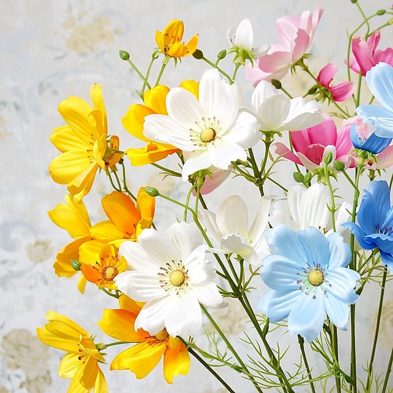 Flower White Silk Artificial Flowers