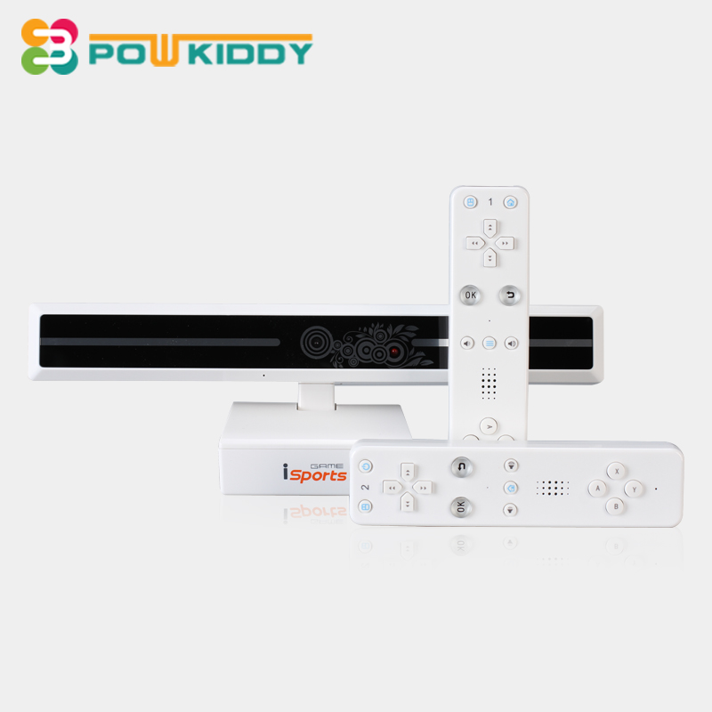 POWKIDDY Wireless HD TV Game Consoles For Double Parent-Child Family Interactive Video Game Player Machine somatosensory game hot sell desktop manual indoor football machine parent child sports interactive toys table ball game machine