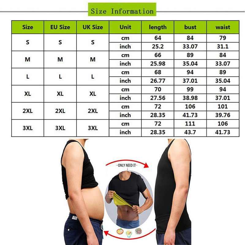 Mens הרזיה ומעצב מאמן חולצות זכר בטן בטן עבור מתקן דחיסת גוף בניין שומן חזה בטן T חולצה מחוך