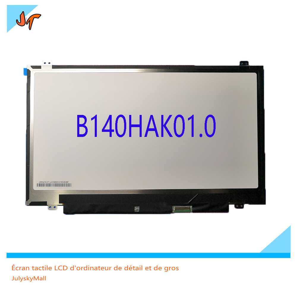 For Lenovo ThinkPad T470s B140HAK01.0 FHD IPS 14 inch brand new original touch LCD screen 1920 * 1080 B140HAK01.0 for beijing lida watson ld128eii touch screen lcd data cable original brand new genuine