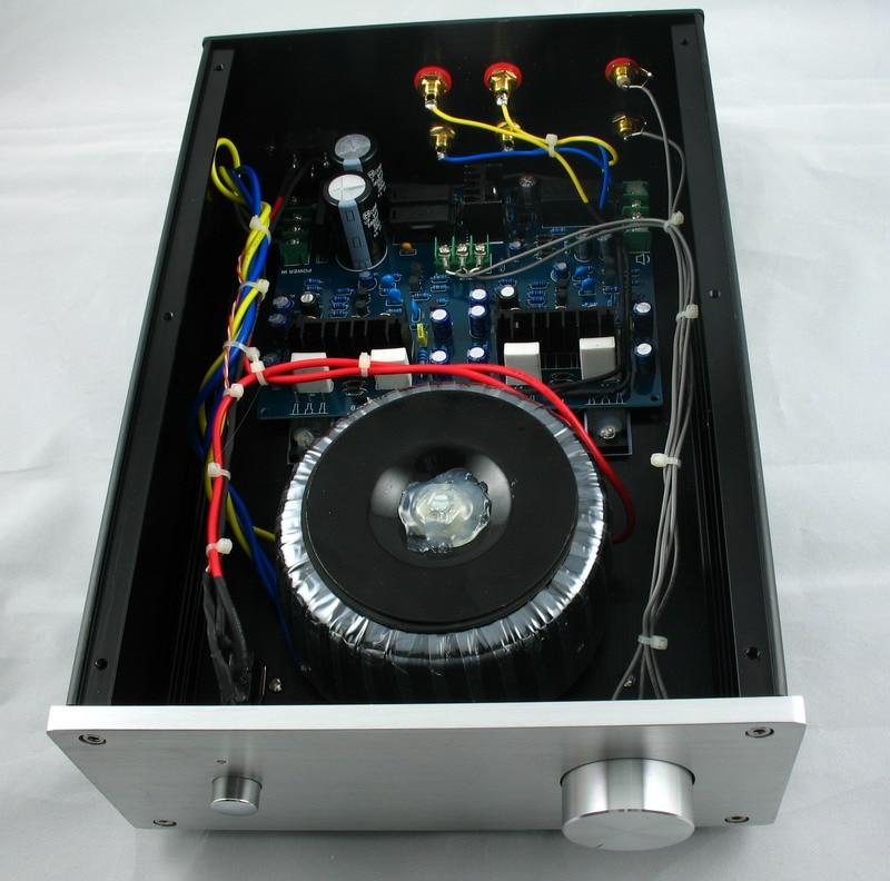 80 W 8 Ohms/100 W 4 Ohms puissance amplificateur MX100 Sanken 2SA1186 2SC2837 Haute-puissance tube 100 W Stéréo Audio Numérique Amplificateur