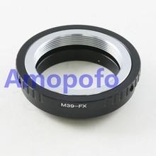 Amopofo, M39-FX Adapter For Leica M39 Lens to Fujifilm X Mount Fuji X-Pro1 M39-FX Camera