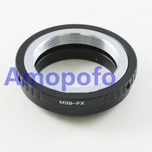 Amopofo, M39-FX Adapter For Leica M39 Lens to Fujifilm X Mount Fuji X-Pro1 M39-FX Digital camera