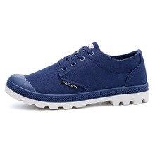Men Causal Shoes Lace Up Canvas Shoes Fabric Flat Breathable Shoes For Men Fashion Canvas Man Shoes P6d12