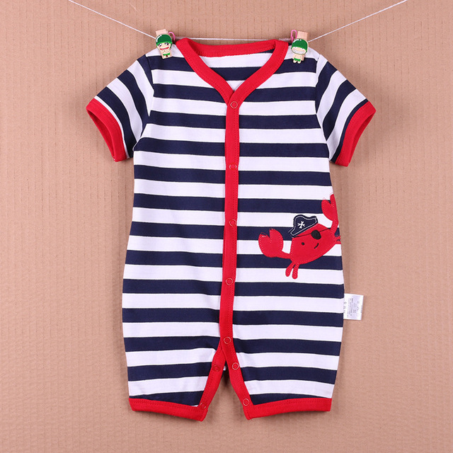 1f2394cfa5e5 Aliexpress.com   Buy High quality Baby Rompers Summer Boy Baby Gril ...