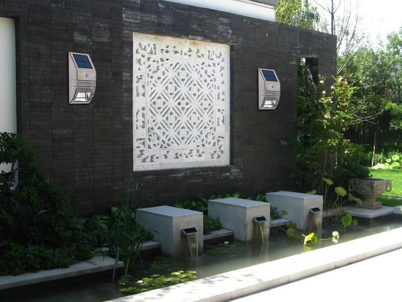 4 conjuntos de LED de Energia Solar