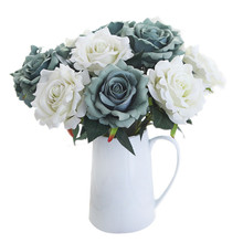 Ruyi Rose Night Rose Artificial Flower Fake Flower Home Decoration Wedding