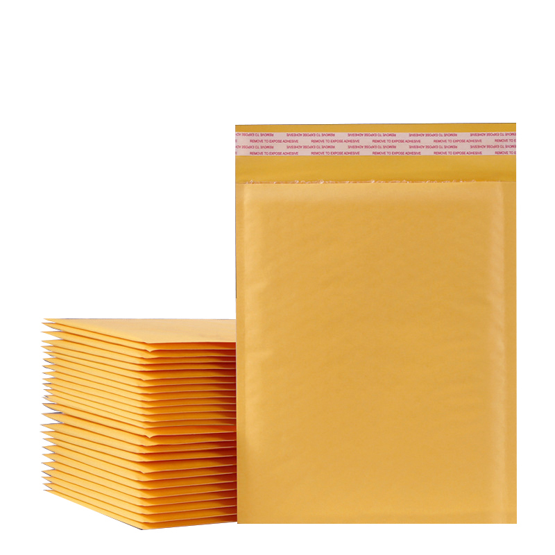 10PCS/15 Sizes Kraft Paper Bubble Envelopes Bags Padded Mailers Shipping Envelope Pacaging Mailing Bags Courier Storage Bags