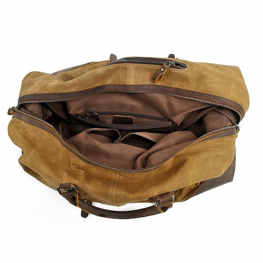 กระเป๋าเดินทางผู้ชายกระเป๋า Casual กระเป๋าสะพายชายกระเป๋า Messenger กระเป๋าขนาดใหญ่กระเป๋าถือกระเป๋าเดินทางผู้ชาย Duffle LI-1260