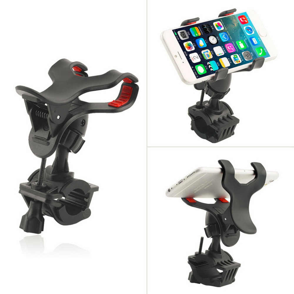 Motorcycle Bicycle MTB Bike Handlebar Mount Holder Universal For CellPhone GPS drop shipping