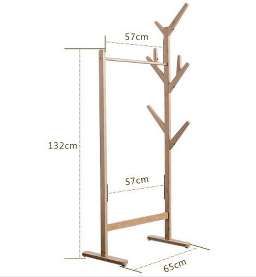 Top quality Floor stand style clothes tree hallstand hatstand hat rack coatrack four hooks multipurpose wall hanging hook clothes hook hatstand hat rack coatrack