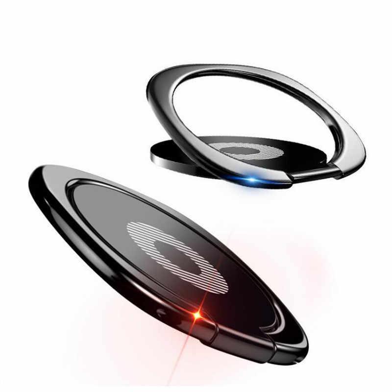Jari Cincin Ponsel Stand Smartphone Pemegang untuk iPhone 7 Plus Samsung Huawei Ponsel Pintar iPad MP3 Mobil Gunung Stand
