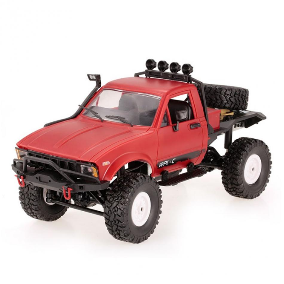 RC Car Model 1pc 1:16 2.4GHz RC Military Truck Vehicle 4 Wheel Remote Control Model Vehicle Toy USB Charging Remote Control Car