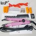 2016 nuevo estilo profesional loof herramienta pre bonded queratina extensión del pelo de la fusión iron conector heat varita hierro tool kit completo