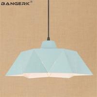 Скандинавский дизайн железный светильник винтажный подвесной светильник Промышленный Декор Лофт лампа для столовой Подвесная лампа для д