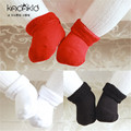 Cotton Baby Socks Baby Socks Toddler Newborn Floor Socks solid colors white red black sale