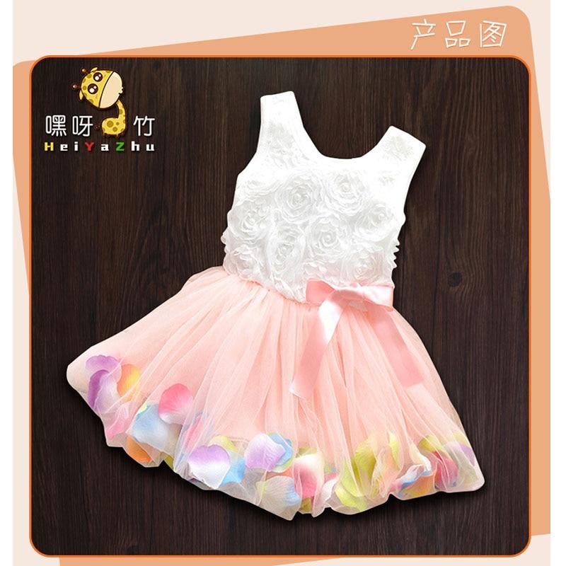 a16bbe4233a2f 2016 summer infant bébé filles dentelle robes vêtements pour enfants ...