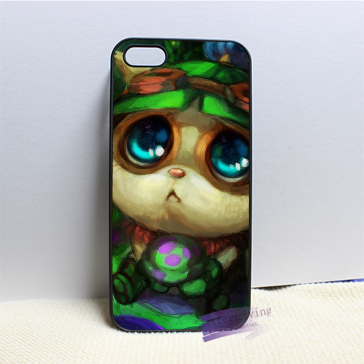 League of Legends LOL teemo 1 fashion cell phone case cover for iphone 4 4s 5 5s 5c SE 6 6s plus 7 plus #N8258