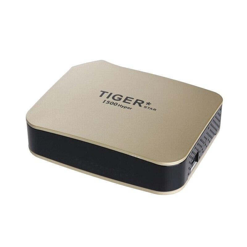 Tigre i500hiper receptor satelital soporte árabe IPTV suscripción 4K pantalla HD receptor de TV Digital por satélite DVBS2 sintonizador FTA - 2