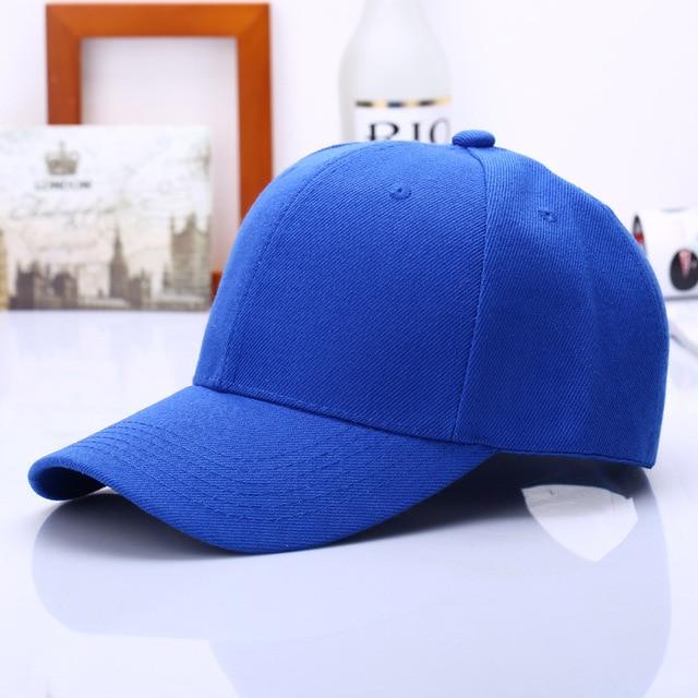 2018 Black Cap Solid Color Baseball Cap Snapback Caps Casquette Hats Fitted Casual Gorras Hip Hop