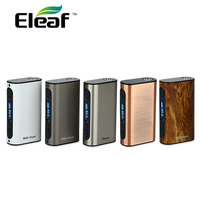 100 Original Eleaf IPower 80W Box MOD With 5000mah Built In Battery Temp Control E Cigarette