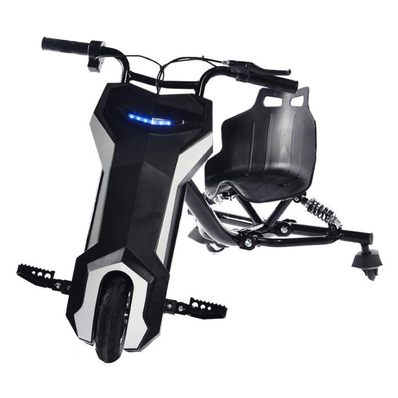 Karting électrique dérive scooter 8 pouces électrique hoverboard extérieur cool électrique trois roues scooter nouveau dérive scooter