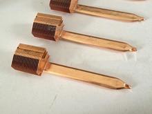 Сварочный радиатор, компоненты охлаждения, радиатор для тепловых труб, плоский ребристый нагреватель труб, быстрая бесплатная доставка