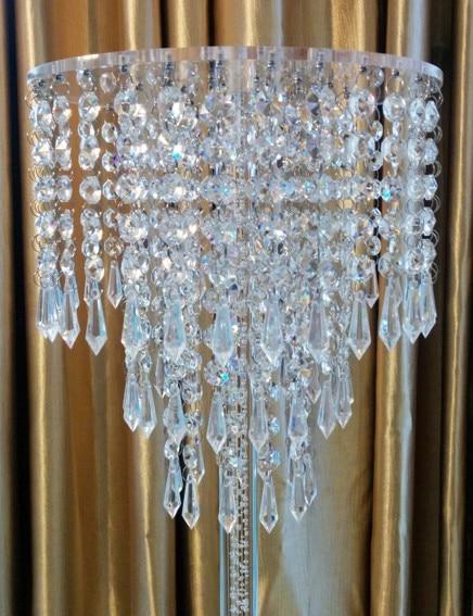 Pulsuz çatdırılma Akrilik Kristal Toy Mərkəzi / büllur şamdan - Ev dekoru - Fotoqrafiya 2