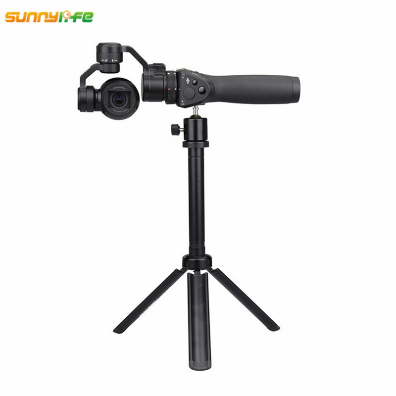 Sunnylife DJI OSMO Accessories Portable Tripod Stabilizer Plane Gimbal Camera Holder for OSMO+ Mobile+ Handheld Camera Gimbal osmo handheld ptz camera accessories handheld steadygrip 4k camera and 3 axis gimbal seat mount bracket free shipping