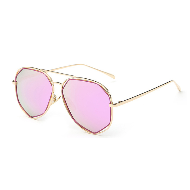f7de5a034f Polarized Brand Designer Women Luxury Round Outdoor Sunglasses Men Metal  Frame Flat Sun Glasses Vintage Mirror