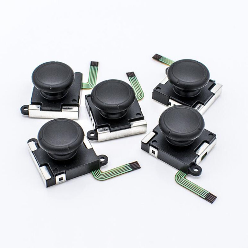 Joystick Controllers Button-Module-Control-Replacement-Part Thumb-Stick-Grips Nintend-Switch