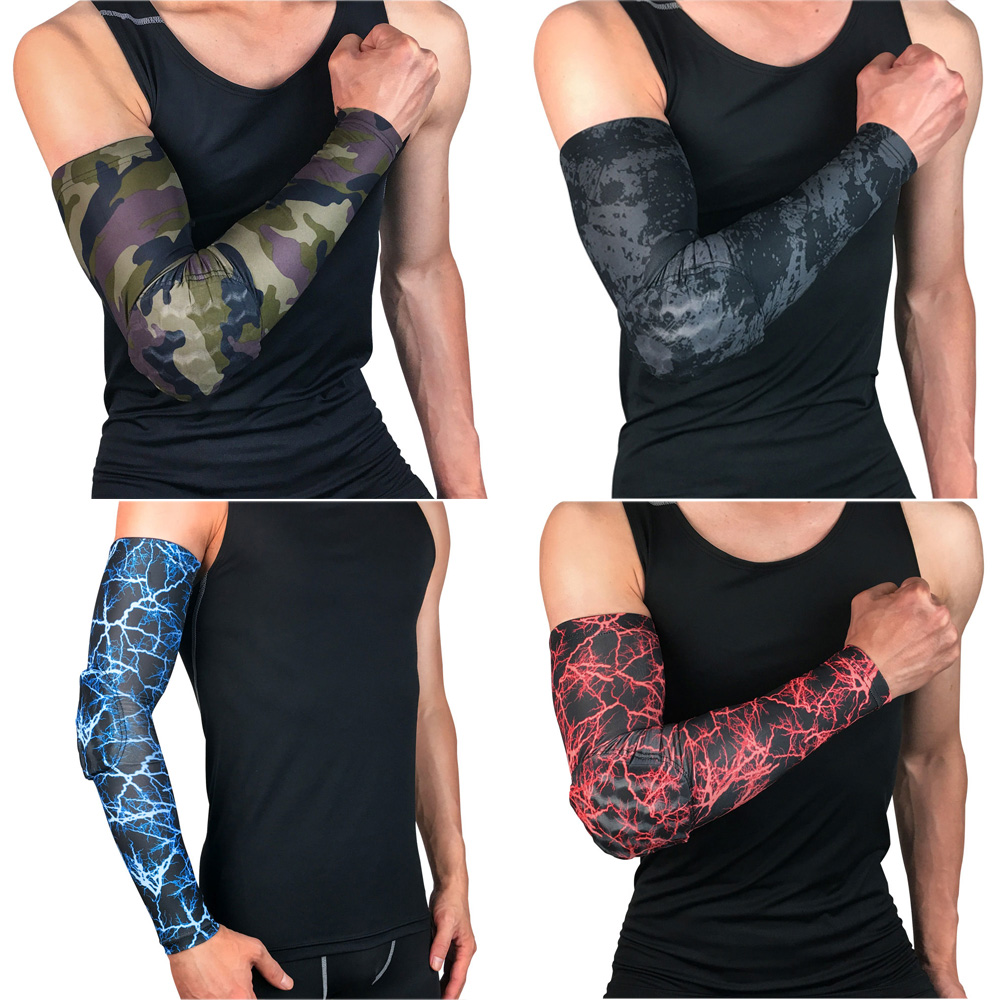 Sports Arm Sleeve Anti-collision Support Basketball Protection Protective Gear SPSLF0030