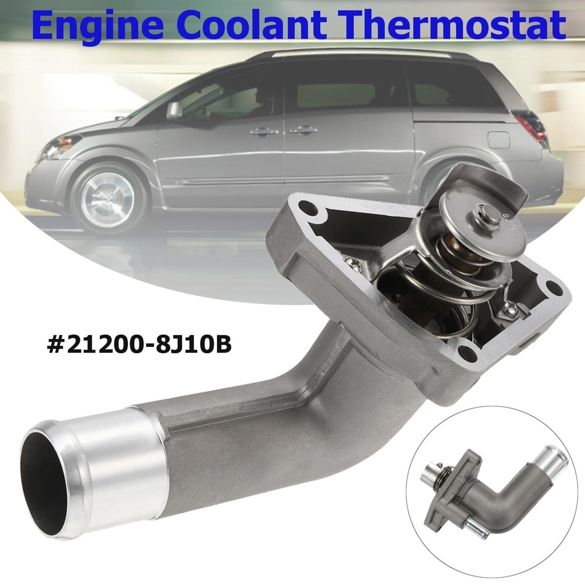 Car Engine Coolant Thermostat For Nissan Quest Maxima Murano Altima 2002 2009 21200 8j10b 13050 Za000 212008j10b 13050za00 In Thermostats Parts From