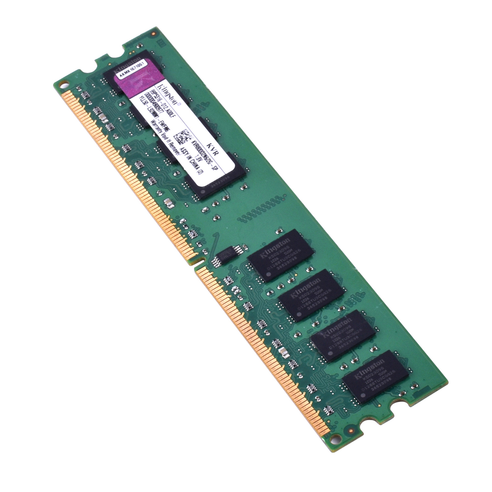 Original Kingston RAM DDR2 4GB 2GB PC2-6400S DDR2 800MHZ 2GB PC2-5300S 667MHZ Desktop 4 GB 4