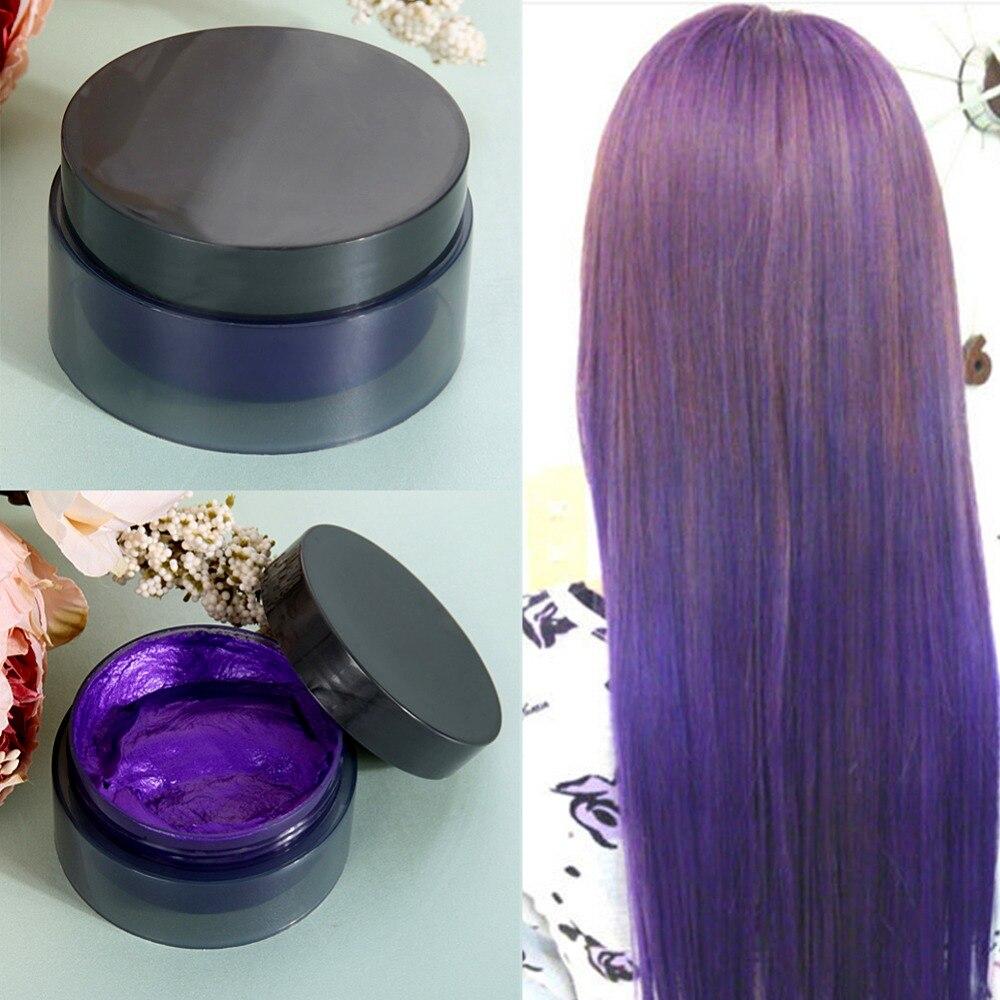 5 Colors 100 ML Temporary Hair Color Dye Cream Disposable DIY Hair ...