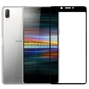 Перейти на Алиэкспресс и купить 75 шт./лот 2.5D Премиум Закаленное стекло для Sony Xperia L3 5,7 ''полное покрытие Защитная пленка для Sony Xperia L4