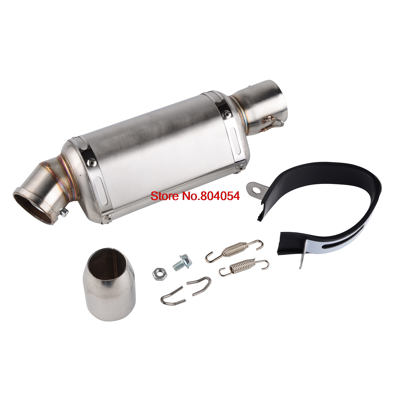38-51MM Universal Muffler Exhaust Pipe Removable DB Killer Silencer For Dirt Bike Street Bike Scooter ATV Quad motorcycle gp exhaust universal muffler 38 51mm slip on for dirt bike street bike scooter atv quad new