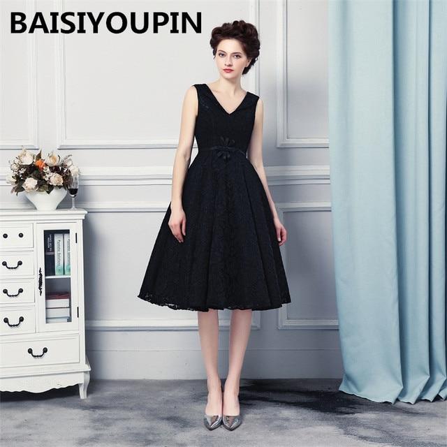 Party Dresses Cheap Vestido Para Formatura 2017 Sexy Black Prom