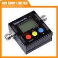 409SHOP PRODUCT SW-102  SW102 vswr 125MHz~525MHz  N connectormeter with frequency counter & power meter