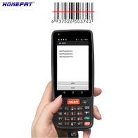 Hot Mobile Handheld PDA Machine POS Terminal With 1D Barcode Scanner and Built in Thermal Printer