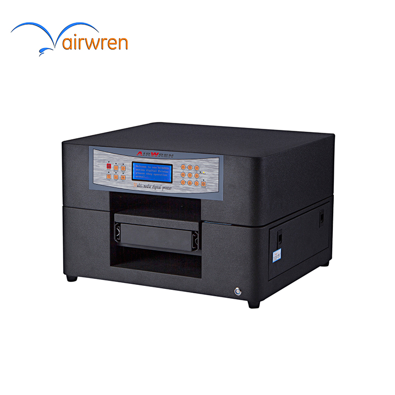 A4 UV Flatbed Cell Phone Case Printer For High Quality