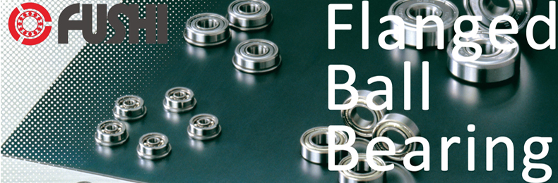 SMF106ZZ Flanged 6x10x3 6mm//10mm//3mm SMF106Z Stainless Miniature Ball Bearings