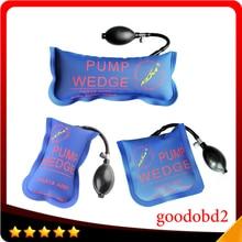 3pcs Lot Klom Pump Wedge Airbag New Diagnostic Tools for Universal Air Wedge Locksmith Tools Lock