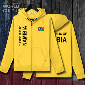 Image 4 - Namibia NAM Namibian NA mens fleeces hoodies sweatshirt winter zipper cardigan jerseys men jackets and coat tracksuit clothes